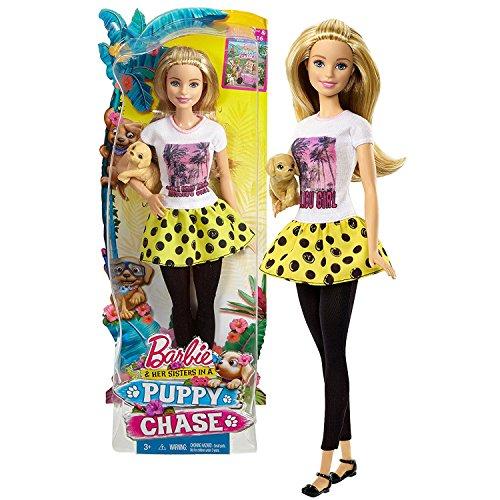 バービー バービー人形 日本未発売 【送料無料】Mattel Year 2015 Barbie Puppy Chase Series 12 Inch Doll - BARBIE DMB26 with Tan Color Puppy Dogバービー バービー人形 日本未発売