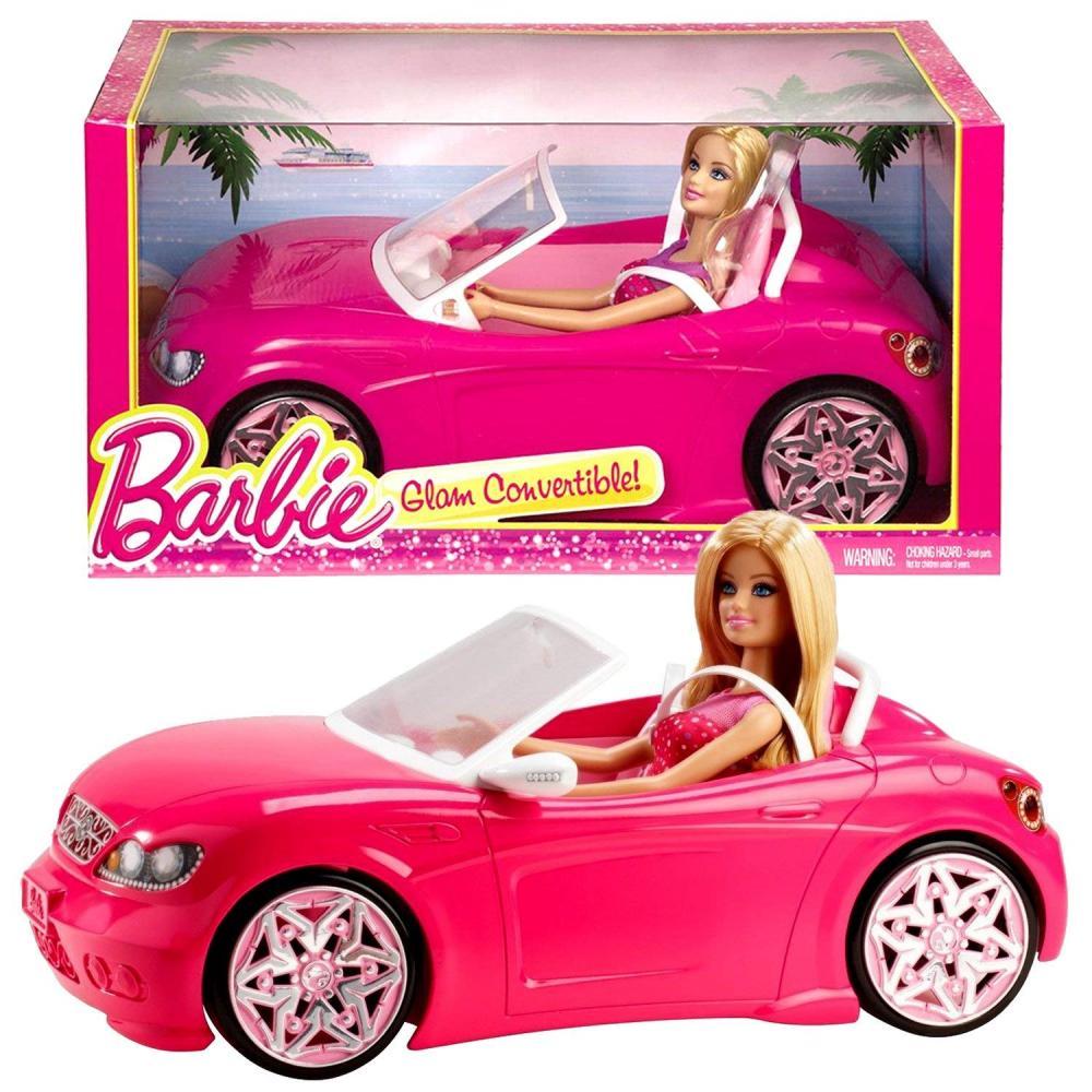 バービー バービー人形 日本未発売 プレイセット アクセサリ Mattel Year 2013 Barbie Glam Series 12 Inch Doll Vehicle Playset - GLAM CONVERTIBLE (BJP38) with Barbie Dollバービー バービー人形 日本未発売 プレイセット アクセサリ