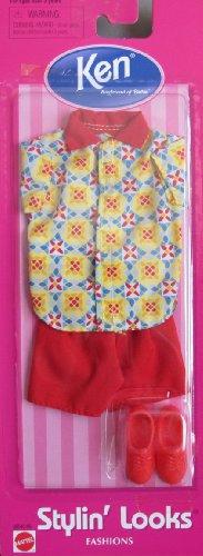 バービー バービー人形 着せ替え 衣装 ドレス Barbie KEN Stylin' Looks Fashions (1998 Arcotoys, Mattel)バービー バービー人形 着せ替え 衣装 ドレス