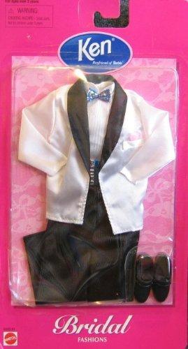 バービー バービー人形 着せ替え 衣装 ドレス Barbie KEN Bridal Fashions TUXEDO w White Jacket & More (1998 Arcotoys, Mattel)バービー バービー人形 着せ替え 衣装 ドレス