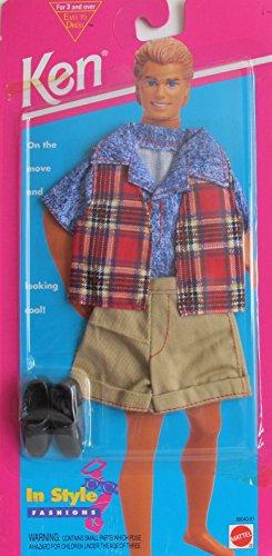 バービー バービー人形 ケン Ken Barbie KEN In Style Fashions Looking Cool! - Easy To Dress (1995 Arcotoys, Mattel)バービー バービー人形 ケン Ken