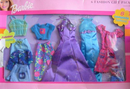 バービー バービー人形 着せ替え 衣装 ドレス Barbie 6 Fashion Gift Pack - Fabulous Fashions Clothes (2000)バービー バービー人形 着せ替え 衣装 ドレス