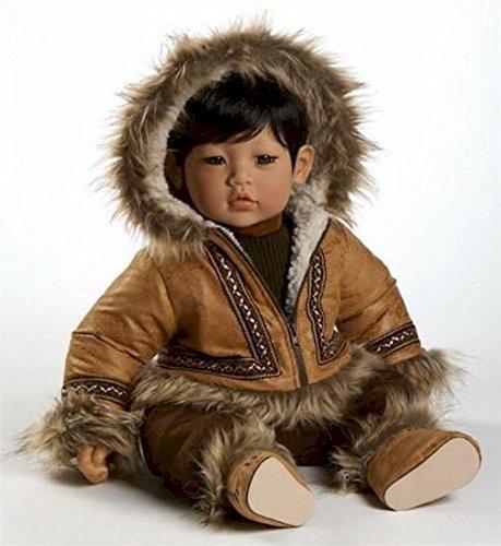 アドラベビードール 赤ちゃん リアル 本物そっくり おままごと Adora Dolls, Kodi - Eskimo Boy (also known as 'Barrow') Limited Editionアドラベビードール 赤ちゃん リアル 本物そっくり おままごと