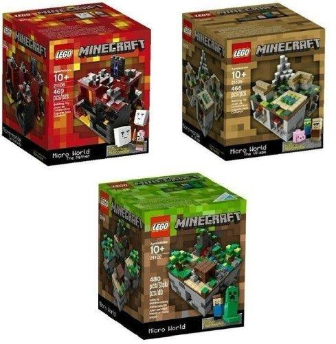 レゴ マインクラフト LEGO Minecraft Set Lego Minecraft Collection 3 Set [21102, 21105, 21106]レゴ マインクラフト