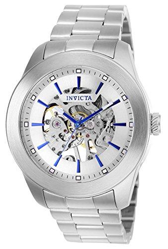 インヴィクタ インビクタ 腕時計 メンズ 【送料無料】Invicta Men's Vintage Automatic Aviator Watch with Stainless Steel Strap, Silver, 22 (Model: 25758)インヴィクタ インビクタ 腕時計 メンズ