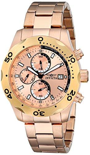 腕時計 インヴィクタ インビクタ メンズ 【送料無料】Invicta Men's 17755 Specialty Analog Display Japanese Quartz Rose Gold Watch腕時計 インヴィクタ インビクタ メンズ