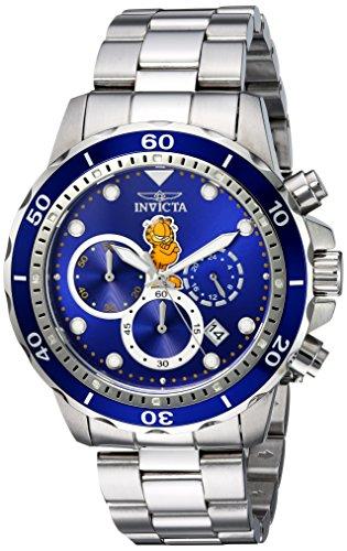 腕時計 インヴィクタ インビクタ メンズ 【送料無料】Invicta Men's Garfield Collection Quartz Watch with Stainless-Steel Strap, Silver, 20 (Model: 25146)腕時計 インヴィクタ インビクタ メンズ