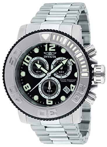 インヴィクタ インビクタ 腕時計 メンズ Invicta Men's 12400 Sea Hunter Chronograph Black Dial Watchインヴィクタ インビクタ 腕時計 メンズ