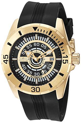 インヴィクタ インビクタ 腕時計 メンズ 【送料無料】Invicta Men's S1 Rally Stainless Steel Automatic-self-Wind Watch with Silicone Strap, Black, 26 (Model: 25771)インヴィクタ インビクタ 腕時計 メンズ