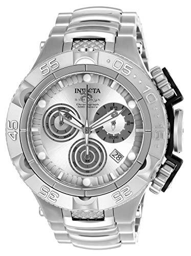 インヴィクタ インビクタ サブアクア 腕時計 メンズ 【送料無料】Invicta Men's Subaqua Quartz Watch with Stainless Steel Strap, Silver, 29 (Model: 26631)インヴィクタ インビクタ サブアクア 腕時計 メンズ