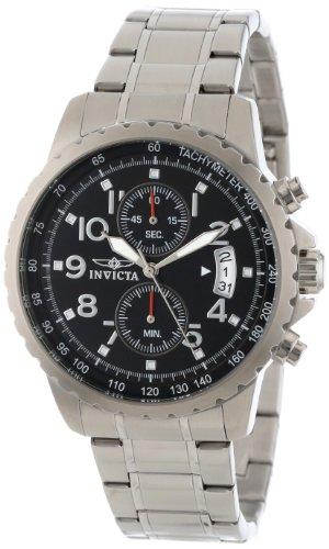 インヴィクタ インビクタ 腕時計 メンズ Invicta Men's 13783 Specialty Chronograph Black Dial Stainless Steel Watchインヴィクタ インビクタ 腕時計 メンズ