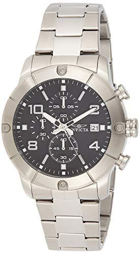 インヴィクタ インビクタ 腕時計 メンズ 【送料無料】Invicta Men's 17762 Specialty Analog Display Japanese Quartz Silver Watchインヴィクタ インビクタ 腕時計 メンズ
