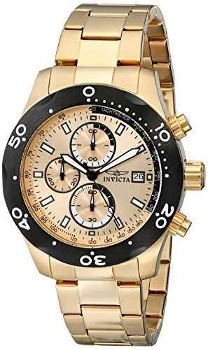 インヴィクタ インビクタ 腕時計 メンズ Invicta Men's 17754 Specialty Analog Display Japanese Quartz Gold Watchインヴィクタ インビクタ 腕時計 メンズ