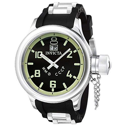 インヴィクタ インビクタ 腕時計 メンズ 【送料無料】Invicta Men's 4342 Russian Diver Collection Black Sport Watchインヴィクタ インビクタ 腕時計 メンズ