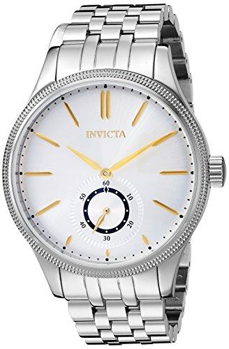 インヴィクタ インビクタ 腕時計 メンズ 【送料無料】Invicta Men's Vintage Quartz Watch with Stainless-Steel Strap, Silver, 19.5 (Model: 25219)インヴィクタ インビクタ 腕時計 メンズ