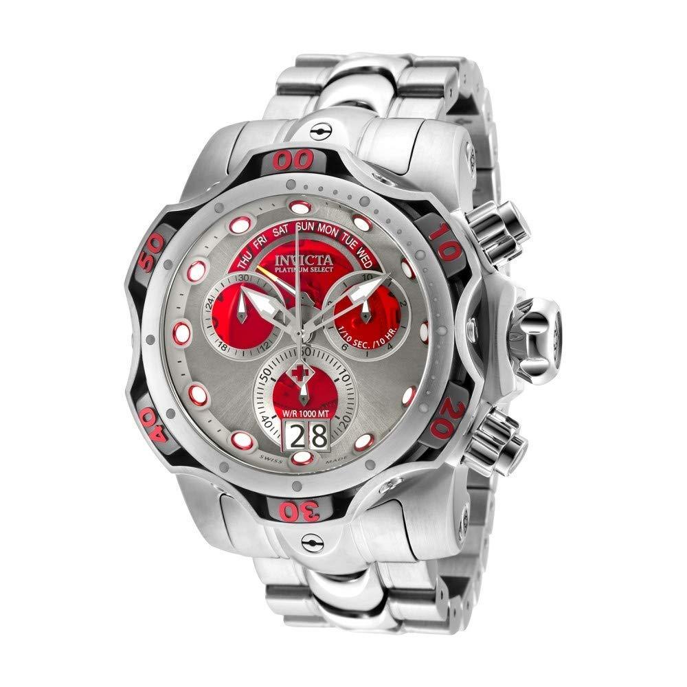 インヴィクタ インビクタ ベノム 腕時計 メンズ 【送料無料】Invicta Men's Venom Quartz Watch with Stainless Steel Strap, Silver, 26 (Model: 26137)インヴィクタ インビクタ ベノム 腕時計 メンズ