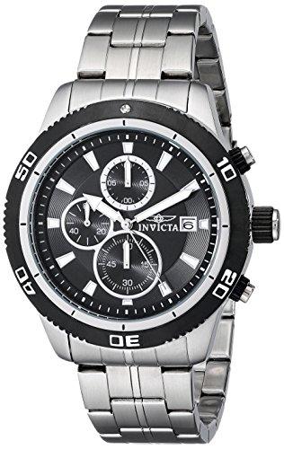 インヴィクタ インビクタ 腕時計 メンズ 【送料無料】Invicta Men's 17439 Specialty Analog Display Japanese Quartz Silver Watchインヴィクタ インビクタ 腕時計 メンズ