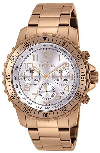 インヴィクタ インビクタ 腕時計 メンズ 【送料無料】Invicta Men's 11368 Specialty Analog Display Swiss Quartz Rose Gold Watchインヴィクタ インビクタ 腕時計 メンズ