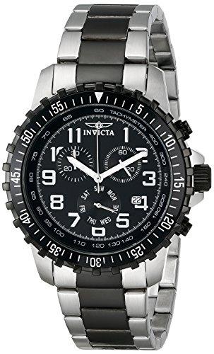 インヴィクタ インビクタ 腕時計 メンズ 【送料無料】Invicta Men's 1326 Invicta II Chronograph Black Dial Two-Tone Stainless Steel Watchインヴィクタ インビクタ 腕時計 メンズ