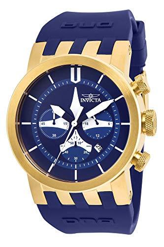 インヴィクタ インビクタ 腕時計 メンズ 【送料無料】Invicta Men's DNA Stainless Steel Quartz Watch with Silicone Strap, Blue, 24 (Model: 25059)インヴィクタ インビクタ 腕時計 メンズ