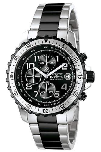 インヴィクタ インビクタ 腕時計 メンズ 【送料無料】Invicta Men's 6398 II Collection Chronograph Stainless Steel and Black Watchインヴィクタ インビクタ 腕時計 メンズ