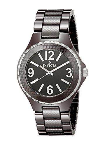 インヴィクタ インビクタ 腕時計 メンズ 【送料無料】Invicta Men's 1186 Black Dial Brown Ceramic Watchインヴィクタ インビクタ 腕時計 メンズ