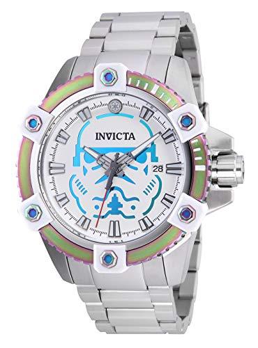 インヴィクタ インビクタ 腕時計 メンズ Invicta Men's 26555 Star Wars Automatic 3 Hand White, Iridescent Dial Watchインヴィクタ インビクタ 腕時計 メンズ