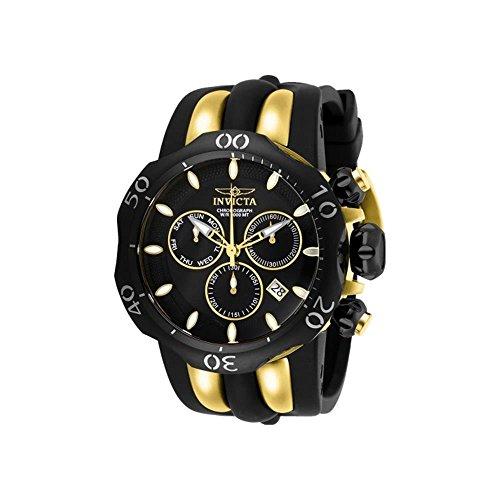 インヴィクタ インビクタ ベノム 腕時計 メンズ 【送料無料】Invicta Men's 26661 Venom Quartz Chronograph Black, Gold Dial Watchインヴィクタ インビクタ ベノム 腕時計 メンズ