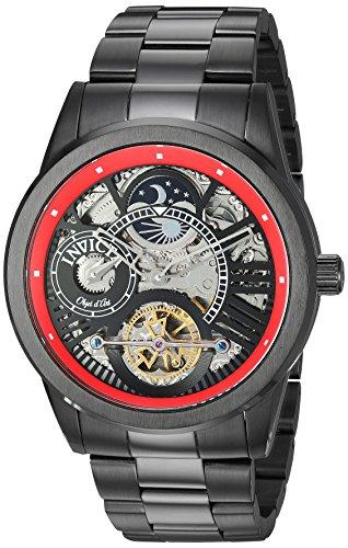 インヴィクタ インビクタ 腕時計 メンズ 【送料無料】Invicta Men's Objet D Art Automatic-self-Wind Watch with Stainless-Steel Strap, Black, 23.8 (Model: 25264)インヴィクタ インビクタ 腕時計 メンズ