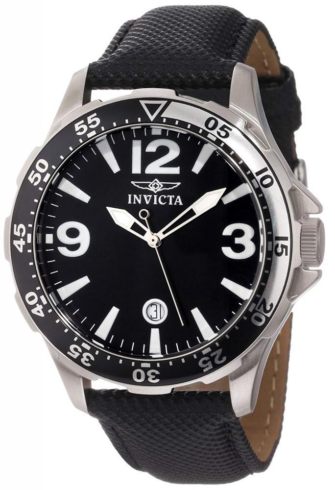 インヴィクタ インビクタ 腕時計 メンズ Invicta Men's 13839 Specialty Black Dial Black Nylon Watchインヴィクタ インビクタ 腕時計 メンズ