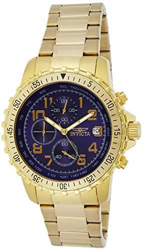 インヴィクタ インビクタ 腕時計 メンズ Invicta Men's 6399 II Collection Chronograph 18k Gold-Plated Stainless Steel Watchインヴィクタ インビクタ 腕時計 メンズ