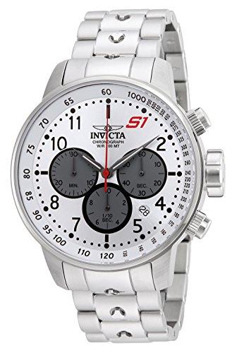 """インヴィクタ インビクタ 腕時計 メンズ 【送料無料】Invicta Men""""s S1 Rally Quartz Watch with Stainless-Steel Strap, Silver, 22 (Model: 23083)インヴィクタ インビクタ 腕時計 メンズ"""