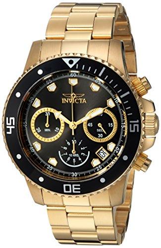 インヴィクタ インビクタ プロダイバー 腕時計 メンズ Invicta Men's Pro Diver Analog-Quartz Diving Watch with Stainless-Steel Strap, Gold, 9 (Model: 21893)インヴィクタ インビクタ プロダイバー 腕時計 メンズ
