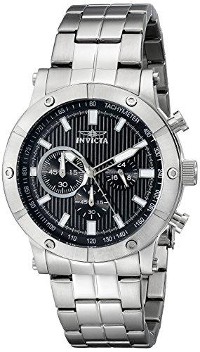 インヴィクタ インビクタ 腕時計 メンズ 【送料無料】Invicta Men's 18161 Specialty Analog Display Japanese Quartz Silver Watchインヴィクタ インビクタ 腕時計 メンズ