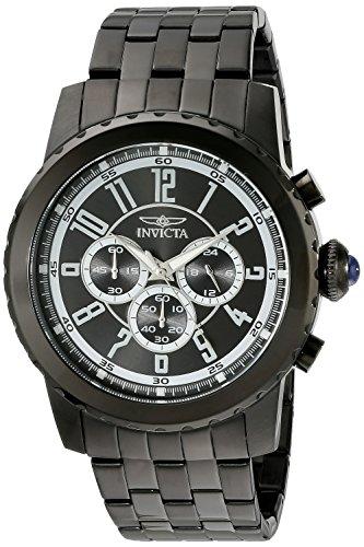 インヴィクタ インビクタ 腕時計 メンズ Invicta Men's 19466 Specialty Black Ion-Plated Stainless Steel Watchインヴィクタ インビクタ 腕時計 メンズ