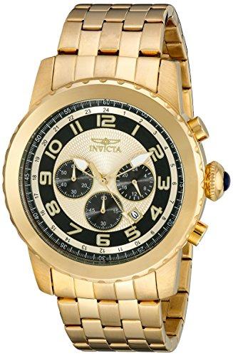 インヴィクタ インビクタ 腕時計 メンズ 【送料無料】Invicta Men's 19463 Specialty Gold-Tone Stainless Steel Watchインヴィクタ インビクタ 腕時計 メンズ