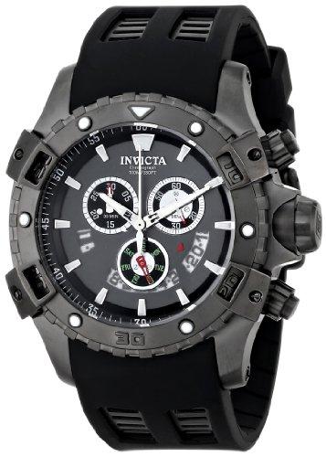 インヴィクタ インビクタ 腕時計 メンズ 【送料無料】Invicta Men's 15859 Specialty Analog Display Swiss Quartz Black Watchインヴィクタ インビクタ 腕時計 メンズ