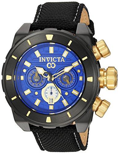 インヴィクタ インビクタ 腕時計 メンズ Invicta Men's Corduba Stainless Steel Quartz Watch with Nylon Strap, Black, 24 (Model: 22335)インヴィクタ インビクタ 腕時計 メンズ
