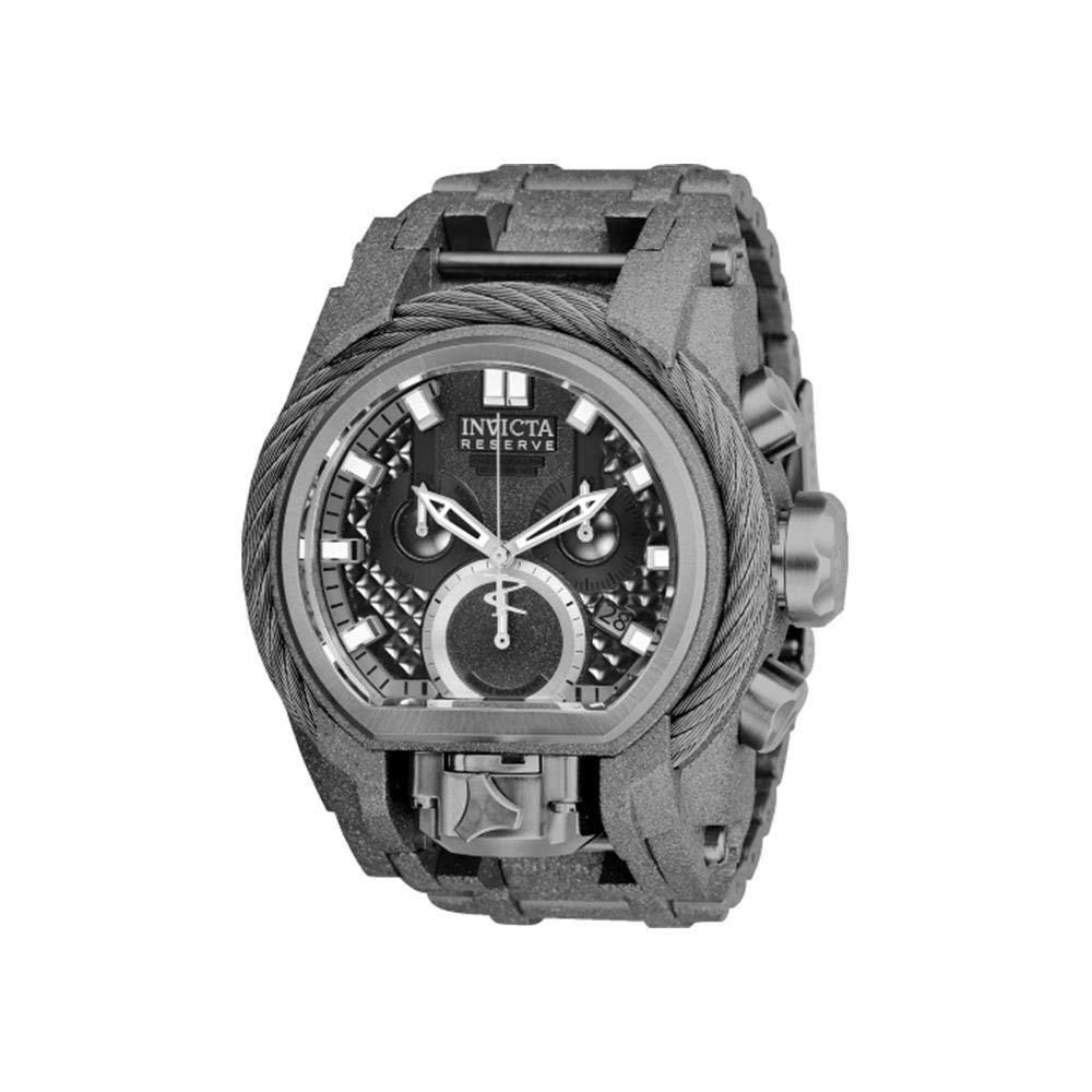 インヴィクタ インビクタ リザーブ 腕時計 メンズ Invicta Men's Reserve Quartz Watch with Stainless-Steel Strap, Grey, 34 (Model: 26681)インヴィクタ インビクタ リザーブ 腕時計 メンズ