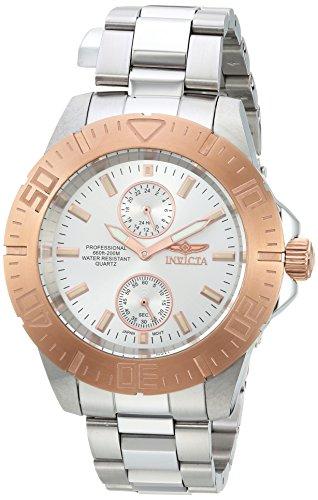 インヴィクタ インビクタ プロダイバー 腕時計 メンズ 【送料無料】Invicta Men's Pro Diver Quartz Diving Watch with Stainless-Steel Strap, Silver, 20 (Model: 14057)インヴィクタ インビクタ プロダイバー 腕時計 メンズ