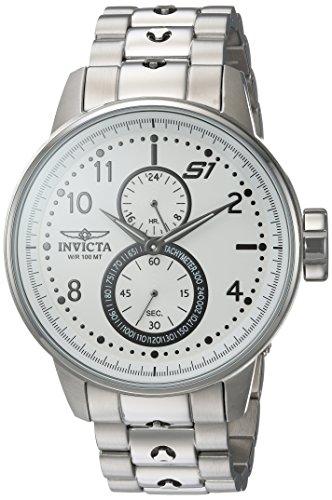 インヴィクタ インビクタ 腕時計 メンズ Invicta Men's S1 Rally Quartz Watch with Stainless-Steel Strap, Silver, 22 (Model: 23059)インヴィクタ インビクタ 腕時計 メンズ