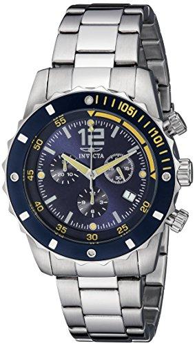 腕時計 インヴィクタ インビクタ メンズ 【送料無料】Invicta Men's 1246 II Collection Chronograph Blue Dial Stainless Steel Watch腕時計 インヴィクタ インビクタ メンズ
