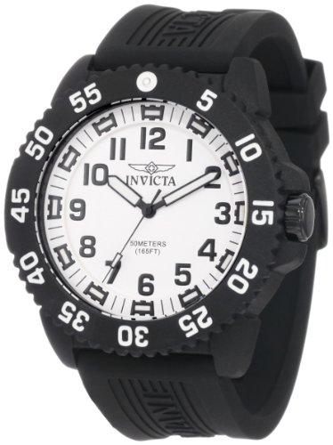インヴィクタ インビクタ 腕時計 メンズ 【送料無料】Invicta Men's 0432 II Collection Carbon Fiber Case Rubber Strap Watchインヴィクタ インビクタ 腕時計 メンズ