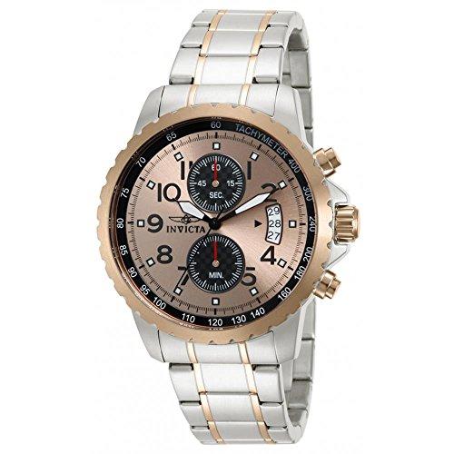 インヴィクタ インビクタ 腕時計 メンズ 【送料無料】Invicta Men's 13784 Specialty Quartz Chronograph Rose Gold Dial Watchインヴィクタ インビクタ 腕時計 メンズ