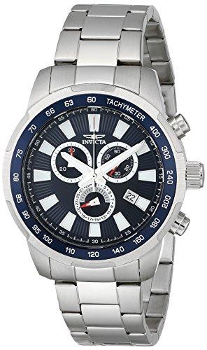 インヴィクタ インビクタ 腕時計 メンズ 【送料無料】Invicta Men's 1556 Specialty Chronograph Blue Dial Stainless Steel Watchインヴィクタ インビクタ 腕時計 メンズ
