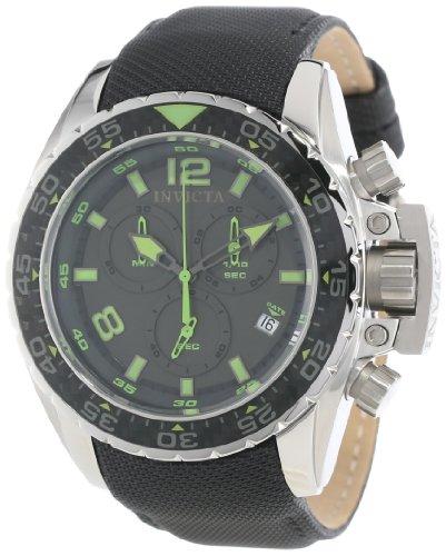インヴィクタ インビクタ 腕時計 メンズ 【送料無料】Invicta Men's 12451 Corduba Chronograph Black Dial Black Nylon Watchインヴィクタ インビクタ 腕時計 メンズ