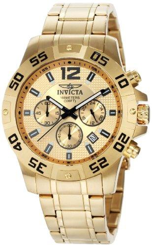 インヴィクタ インビクタ 腕時計 メンズ Invicta Men's 1503 Chronograph 18k Gold Ion-Plated Stainless-Steel Watchインヴィクタ インビクタ 腕時計 メンズ