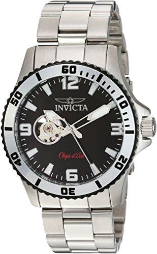 腕時計 インヴィクタ インビクタ メンズ 【送料無料】Invicta Men's Objet d'Art Automatic-self-Wind Watch with Stainless-Steel Strap, Silver, 22 (Model: 22624)腕時計 インヴィクタ インビクタ メンズ