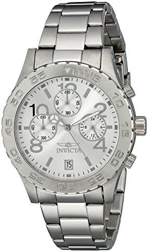 インヴィクタ インビクタ 腕時計 メンズ 【送料無料】Invicta Men's 1278 II Collection Chronograph Silver Dial Stainless Steel Watchインヴィクタ インビクタ 腕時計 メンズ