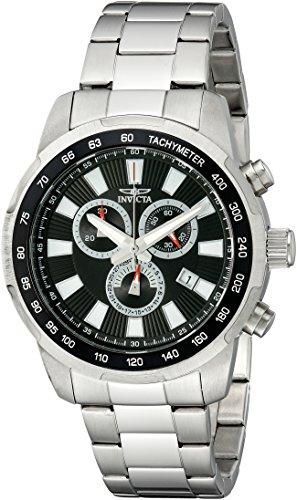 インヴィクタ インビクタ 腕時計 メンズ 【送料無料】Invicta Men's 1555 Specialty Chronograph Black Dial Stainless Steel Watchインヴィクタ インビクタ 腕時計 メンズ